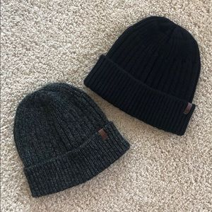 Two American Eagle Beanies